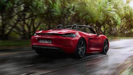 Apex Predator. The new 718 Boxster GTS.